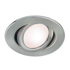 Spot de embutir móvil Ø11cm completo lampara led 7w máxima potencia